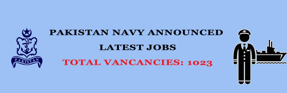 Pakistan Navy Latest Jobs 2019