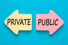 private vs pubic